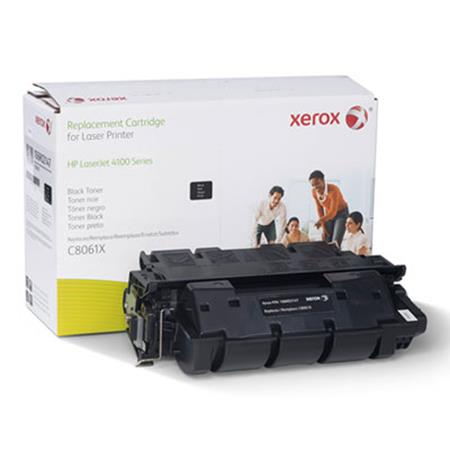 Xerox Premium Replacement Black Extended Capacity Capacity Toner Cartridge for HP 61X (C8061X)