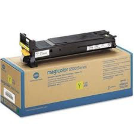 Konica-Minolta A06V233 Yellow Original Toner Cartridge