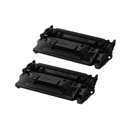 Compatible Twin Pack Black Canon 052H Toner Cartridges
