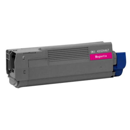 OKI 43324467 Magenta Remanufactured Toner Cartridge