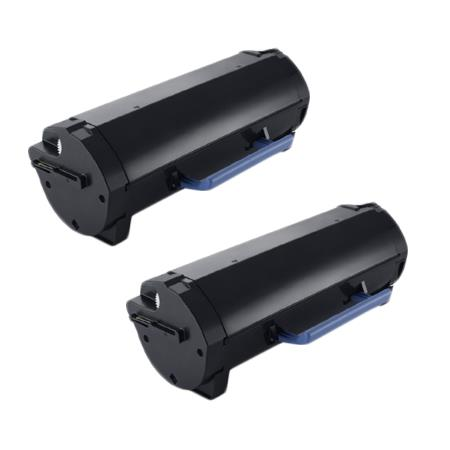 Compatible Twin Pack Black Dell 331-9797 Toner Cartridges