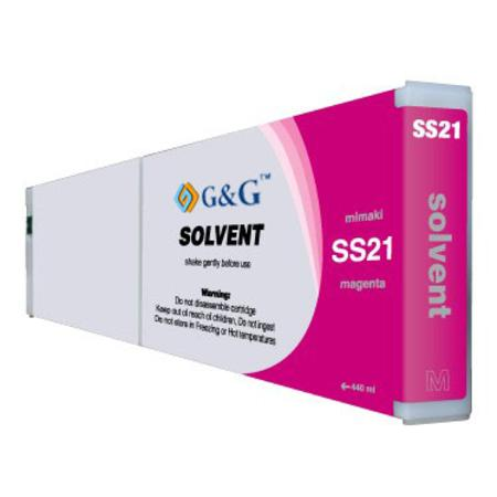 Compatible Magenta Mimaki SS21M Mild-Solvent Ink Cartridge