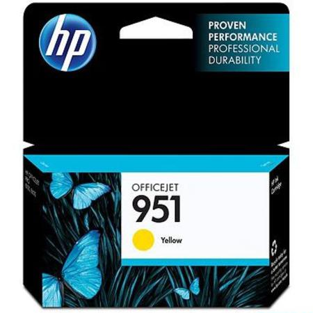 HP 951 (CN052AN) Yellow Original Standard Capacity Officejet Ink Cartridge