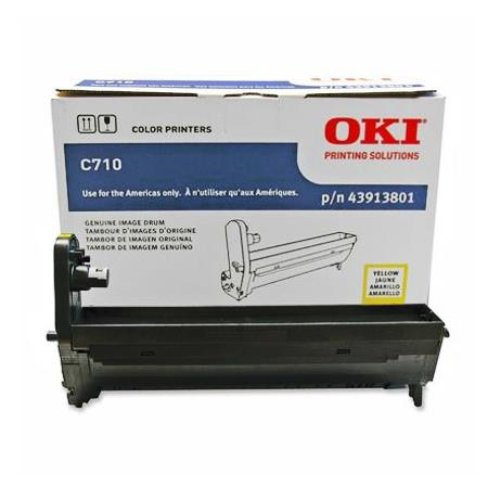 OKI 43913801 Yellow Original High Capacity Drum Unit