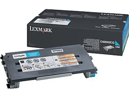 Lexmark C500 Original Cyan High Yield Toner Cartridge