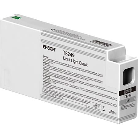 Epson T8249 (T824900) Light Light Black Original UltraChrome HDX Ink Cartridge (350 ml)
