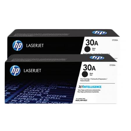 HP 30A Black Original Standard Capacity Toner Cartridges Twin Pack