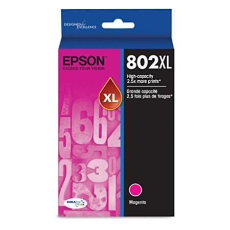 Epson T802XL Magenta Original High Capacity Ink Cartridge