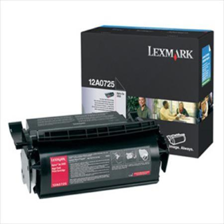 Lexmark 12A0725 Original Black Toner Cartridge