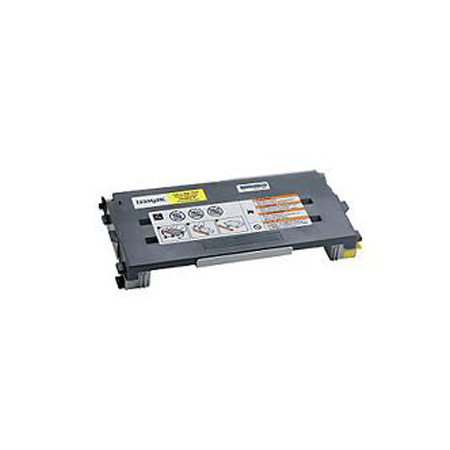 Lexmark C500 Yellow Remanufactured High Yield Toner Cartridge