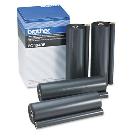 Brother PC104RF Original Ribbon Refills (4 Pack)