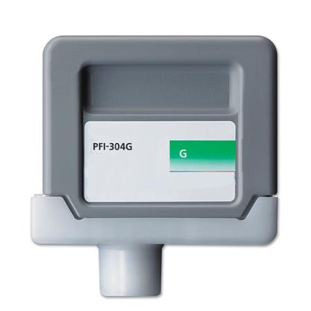 Compatible Green Canon PFI-304G Ink Cartridge (Replaces Canon 3856B001AA)
