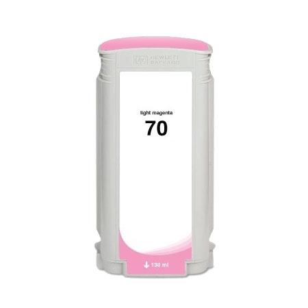 HP 70 Remanufactured Light Magenta Ink Cartridge (C9455A)