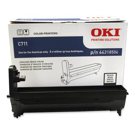 OKI 44318504 Black Original Standard Capacity Drum Unit