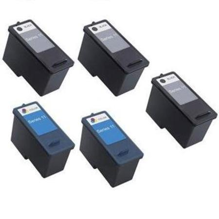Compatible Multipack Dell CN594/CN596 2 Full Set + 1 EXTRA Inkjet Cartridges
