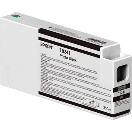 Epson T8241 (T824100) Photo Black Original UltraChrome HDX Ink Cartridge (350 ml)