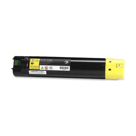 Compatible Yellow Xerox 106R01509 High Yield Toner Cartridge