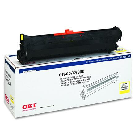OKI 42918101 Yellow Original Drum Unit