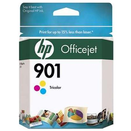 HP 901 Tri-color Original Officejet Ink Cartridge (CC656AN)