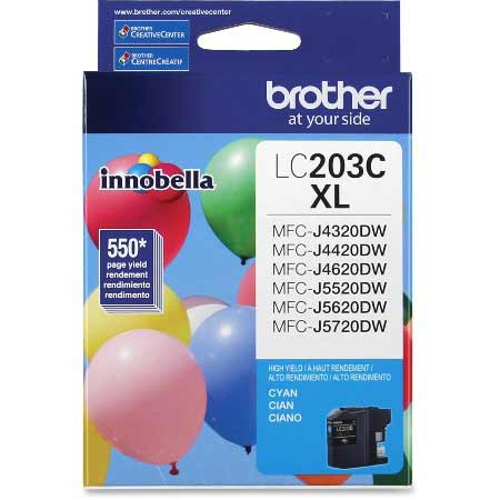 Brother LC203C Original Cyan High Capacity Ink Cartridge