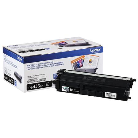 Brother TN433BK Black Original High Capacity Toner Cartridge