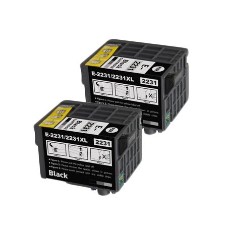 Compatible Twin Pack Epson 223XL Black High Capacity Ink Cartridges