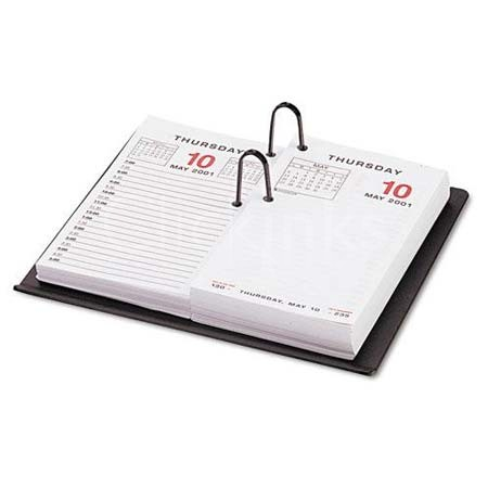 Universal Recycled Plastic #17 Calendar Holder, 3-1/2 x 6-1/2, Black