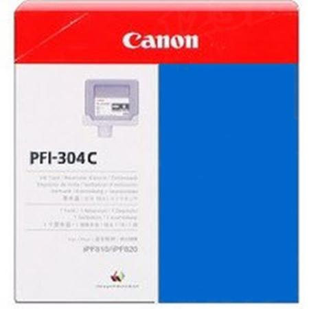Canon PFI-304C Original Cyan Ink Cartridge