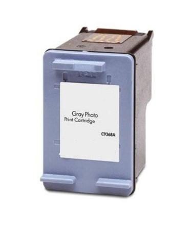 HP 100 Gray Photo Remanufactured Ink Cartridge (C9368AN)