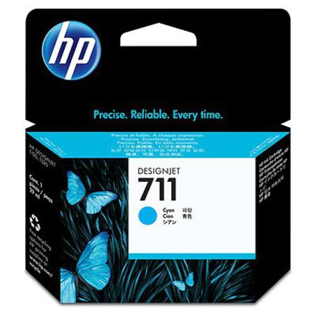 HP 711 Cyan Original Ink Cartridge (29ml)