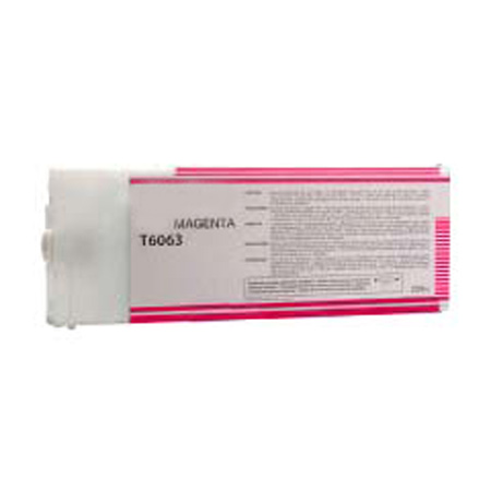 Compatible Magenta Epson T6063 Ink Cartridge (Replaces Epson T606300)