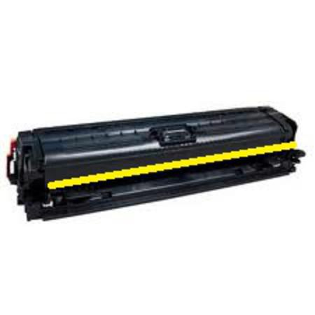 HP 307A (CE742A) Yellow Remanufactured Toner Cartridge