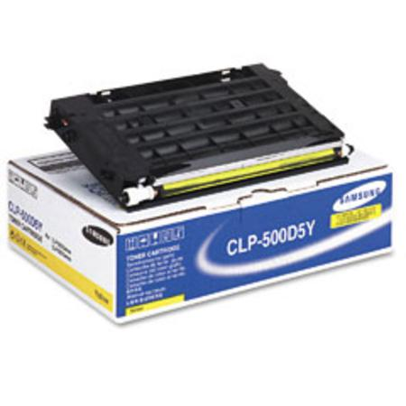 Samsung CLP-500D5Y Original Yellow Toner Cartridge