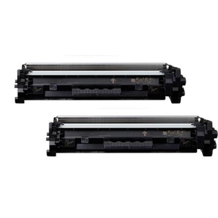 Compatible Twin Pack Black Canon 047BK Toner Cartridges