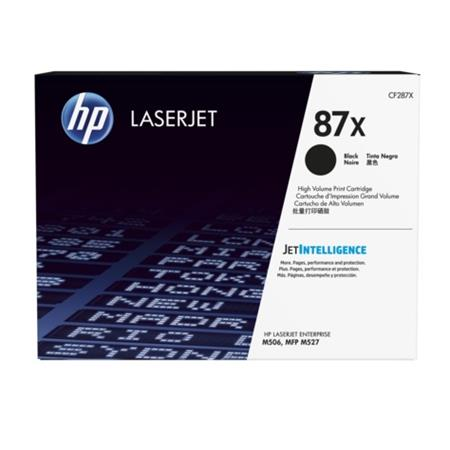 HP 87X Black Original High Capacity Toner Cartridge (CF287X)