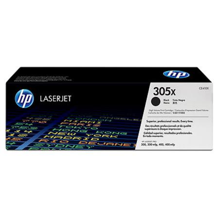 HP 305X Black Original High Capacity Toner Cartridge (CE410X)