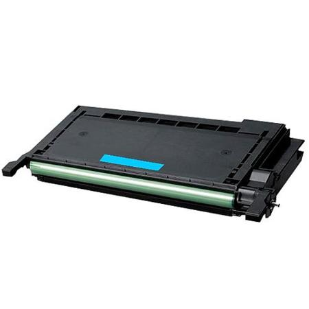 Samsung CLP-C660B Cyan High Capacity Remanufactured Toner Cartridge