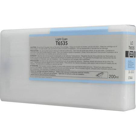 Epson T653500 (T6535) Remanufactured Light Cyan Ink Cartridge