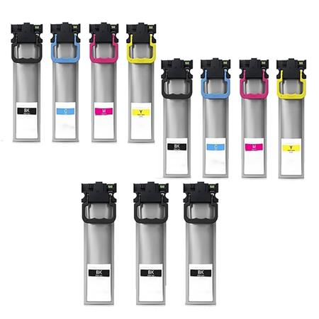 Compatible Multipack Epson 902XL 2 Full Sets + 3 EXTRA Black Ink Cartridges