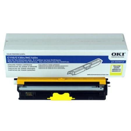 OKI 44250713 Yellow Original High Capacity Toner Cartridges