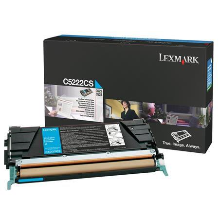 Lexmark C5222CS Original Cyan Toner Cartridge