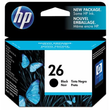 HP 26 Black Original Inkjet Print Cartridge (51626A)