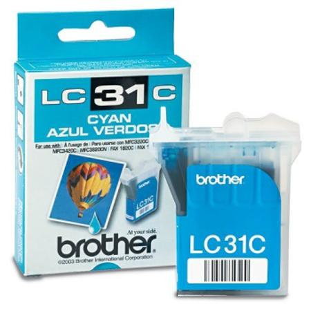 Brother LC31C Cyan Original Print Cartridge