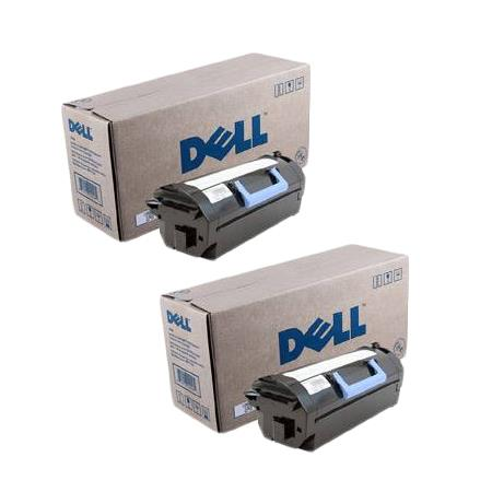 Dell 332-0131 Black Original Return Program Laser Toner Cartridges Twin Pack