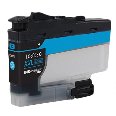 Compatible Cyan Brother LC3033C Extra High Yield Ink Cartridge