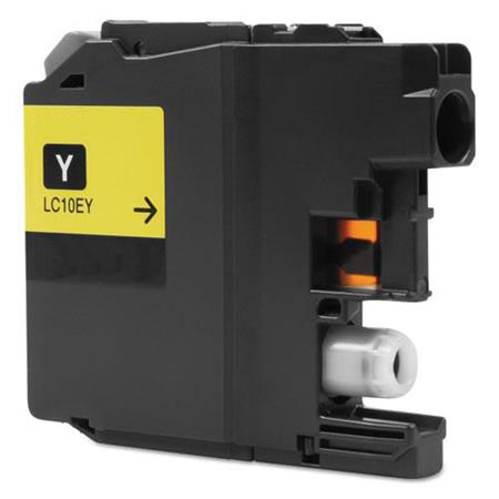 Compatible Yellow Brother LC10EY Extra High Yield Ink Cartridge