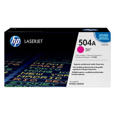 HP CE253A Original Magenta Standard Capacity Toner Cartridge