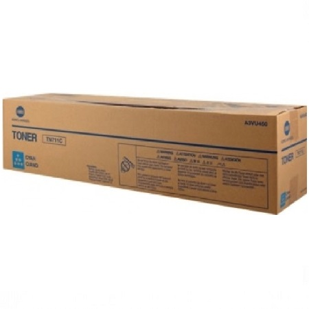 Konica Minolta TN711 Cyan Original Toner Cartridge