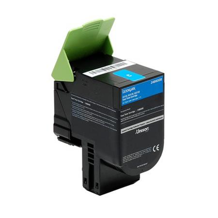 Lexmark 24B6008 Cyan Original High Capacity Toner Cartridge