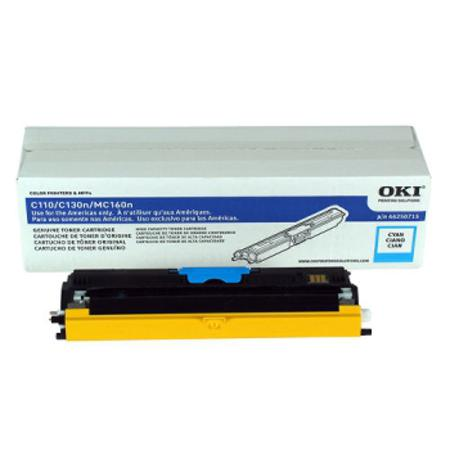 OKI 44250715 Cyan Original High Capacity Toner Cartridges